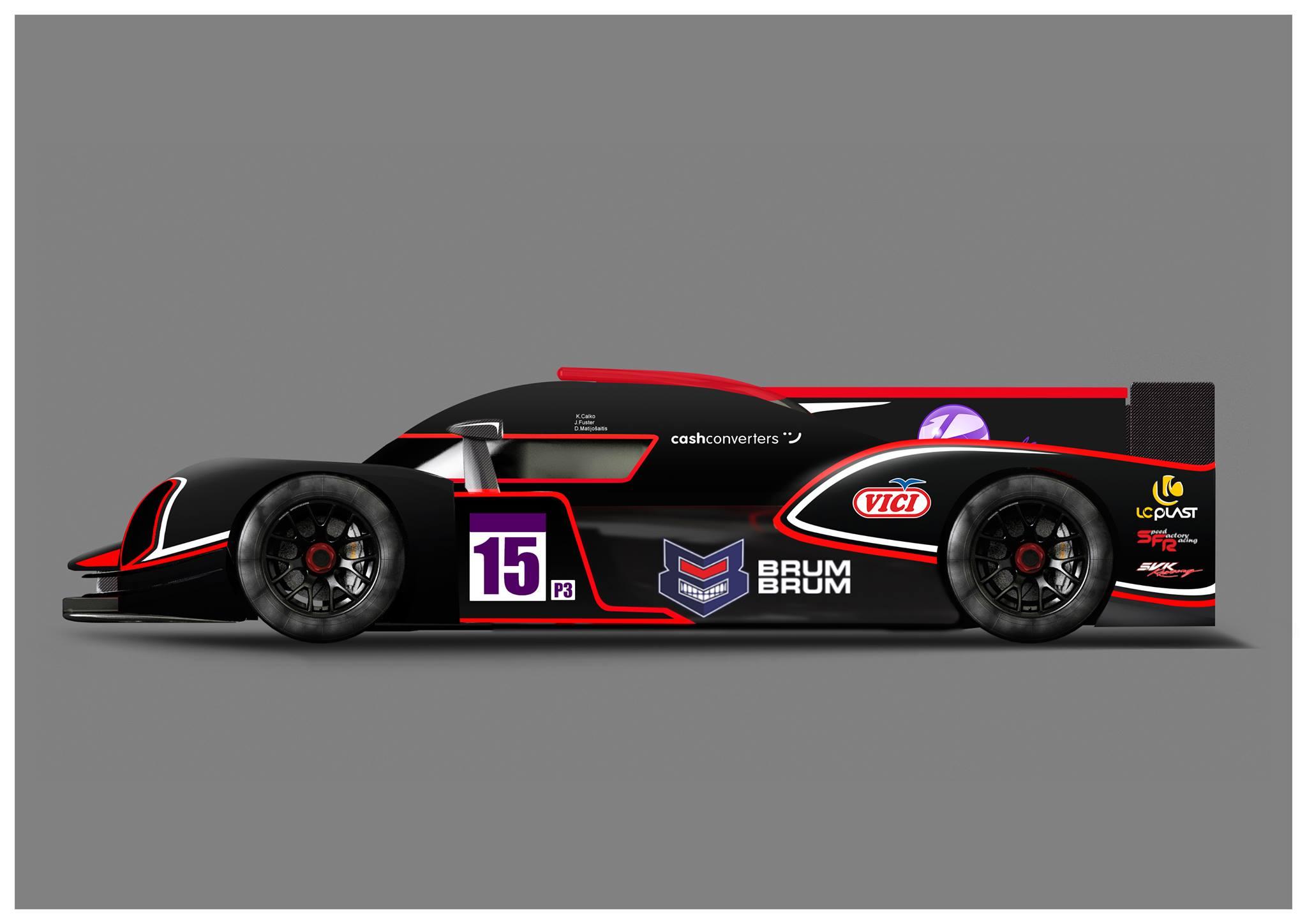 sfr team 31 cars on track for the official test session at le castellet. Black Bedroom Furniture Sets. Home Design Ideas