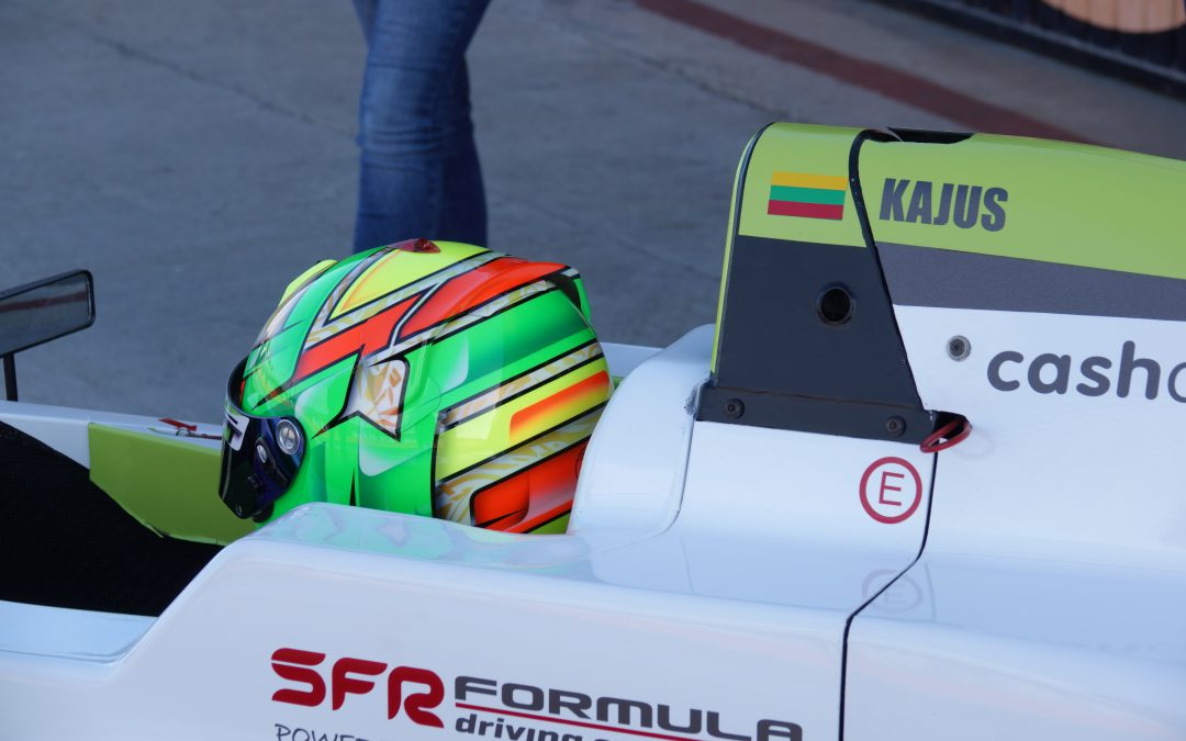 Lithuania Karting Champion Kajus Siksnelis got Speed Factory Racing Team Prize -Formula Renault Test day.
